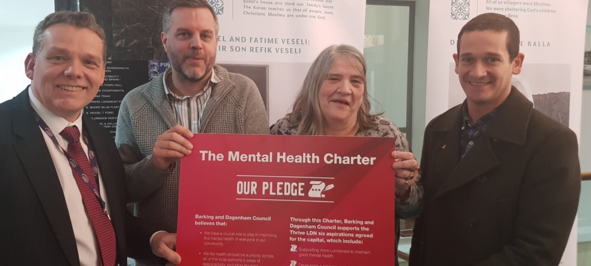 Barking and Dagenham Council Sign Mental Health Charter